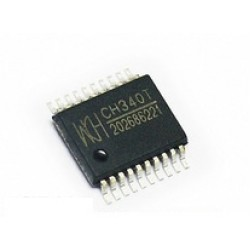 CH340T - USB to Serial Chip - SSOP-20