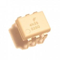 4N35M - 6 Pin General Purpose Phototransistor Optocoupler - Fairchild Semi