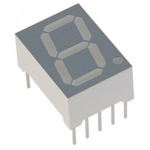 7 Segment LED Display - RED -  SP5503 - Common Cathode - 14mm (0.56 Inch)