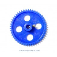 Plastic Spur/Pinion Gear - Blue - 6mm Circular Shaft - GB-3