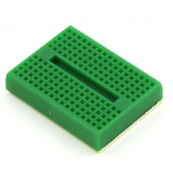 170 Tie Points - Mini Solderless Breadboard SYB-170 - Self Adhesive - Green