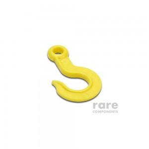 Plastic Hook - Yellow - 4.5cm Height
