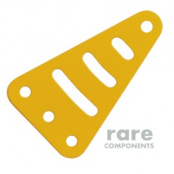 Triangular Metal Plate - Yellow