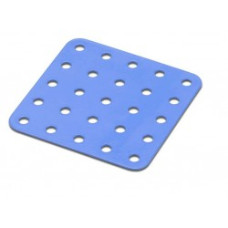 Flat - Square Metal Plate - 5 x 5 Holes