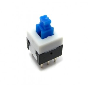 Push to Lock Switch - On/Off - 8x8 mm