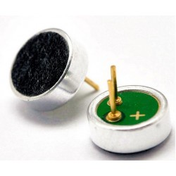 High Quality Electret Microphone - 6 mm x 2.2 mm