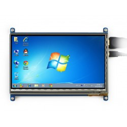 Waveshare 7inch HDMI (B) LCD - Capacitive Touch - 800x480 - HDMI Interface