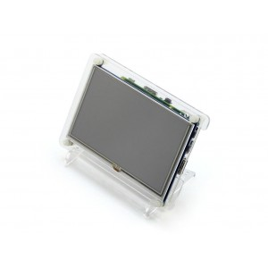 5 Inch HDMI LCD for RPi with Acrylic Case - 800 x 480 Resolution