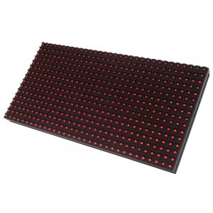 P10 Outdoor LED Display Panel Module - 32x16 - High Brightness RED - 5V - Dot Matrix Display