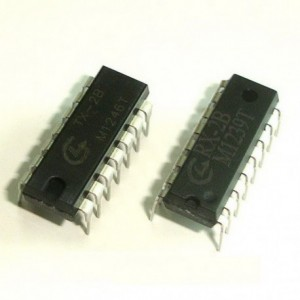 RX-2B / TX-2B Pair - RF Remote Control IC for RC Toy Car - DIP Package