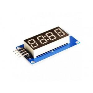 TM1637 based 4 digit LED segment diplay module - I2C Interface