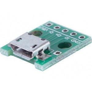 5 Pin micro usb breakout board