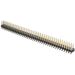 40x2 - Male Header - 2.54mm Pitch - Surface Mount Type