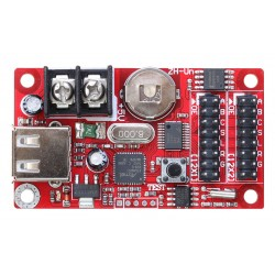 P10 LED Display Panel Controller Card - Single Color - 2xHUB12 - 320 x 32 Pixels