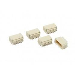 JST-SH : 5Pin Socket - 1mm Pitch - Surface Mount - Lot of 5 PCS