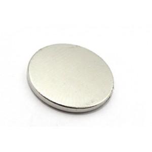 Neodymium Magnet, 17mm Dia x 2mm Thick, N35, 2.25 Kg Pull