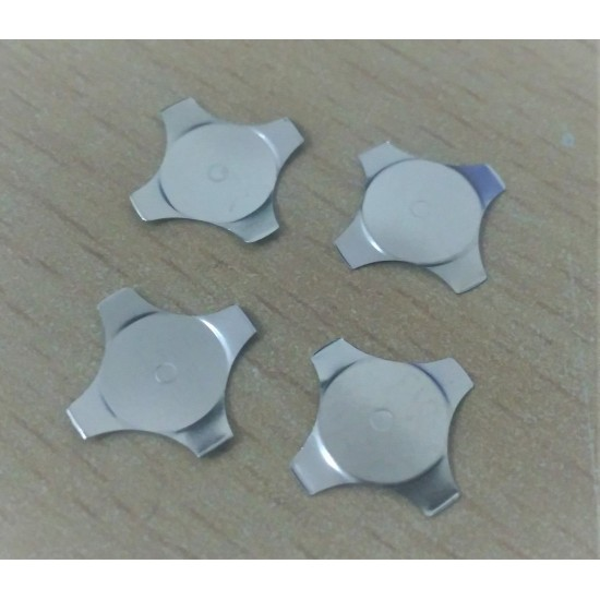 12mm Dia Metal Dome Switch - Cross Shaped