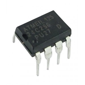 24C256 - Two Wire Serial EEPROM - 256KBits - 8PDIP Atmel Corporation