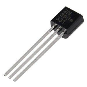2N3904 NPN Transistor 40V, 0.2A, TO92