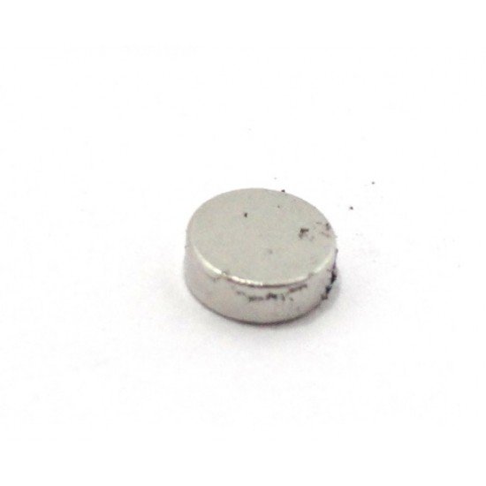 Neodymium Magnet 3mm Dia x 1.5mm Thick, N35, 0.1 Kg Pull