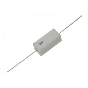 1 OHM, 5 Watt Cermet Wire Wound Resistor - 10% - Axial Lead