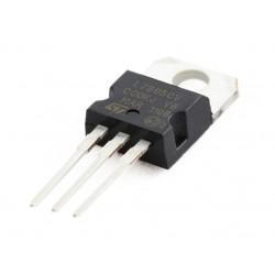 L7805CV, +5V, 1A Regulator, TO220-3L, ST Micro