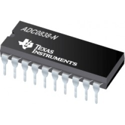 ADC0838 - 8 bit Serial I/O ADC with Multiplexer