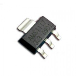 AMS1117-3.3V, 1A LDO Voltage Regulator, SOT-223