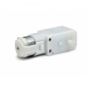 DC Plastic Gear motor , Straight  Shaft 12V, 100RPM - BO-1 Motor