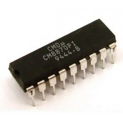CM8870-PI, CMOS Integrated DTMF Receiver/Decoder, 18-DIP