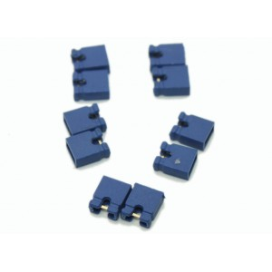 2 Pin Shunt - 2.54mm Pitch - Jumper Cap - Blue Color