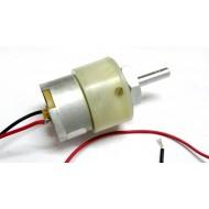 DC Geared Motor, 12V, 300 RPM, 2.5 Kg-cm