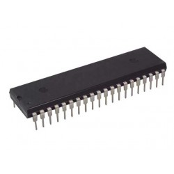 ICL7107 - 3-1/2 Digit LED Display , A/D converter - Intersil - DIP40