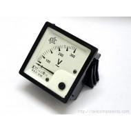 AC Voltmeter - Analog Panel Mount