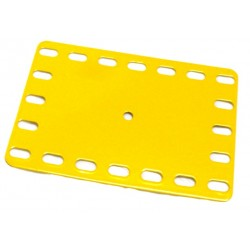 Flat Flexible Ractangular Metal Plate - 5 x 7 Flexible Holes