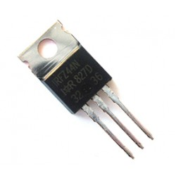 IRFZ44N - 55V, 49A N channel Power MOSFET, TO220, International Rectifier