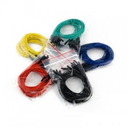 1 Pin Female to Female Jumper Wire - 12 Inch/30.5 cm - Mixed colors
