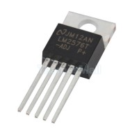 LM2576 - ADJ, 3A Adjustable Switching Voltage Regulator, TO220-5 Lead