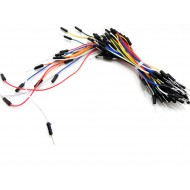 Male to Male Jumper Wires - 1 Pin - Set of 65 Wires - Mix colors - Mix Length