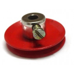 Metallic Pulley - 4mm bore diameter