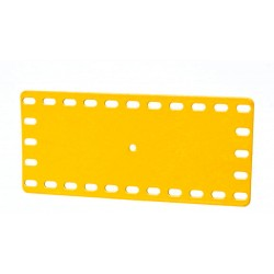 Flat Flexible Ractangular Metal Plate - 5 x 11  Flexible Holes
