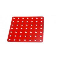 Flat Square Metal Plate 7 x 7 Holes
