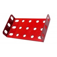 Flanged Metal Plate 7 x 3 Holes