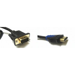 HDMI TO VGA - 1.5 Meter Cable