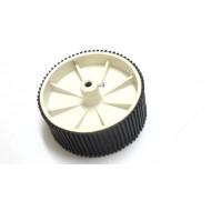 Big Racing Wheel - 10.6 cm Dia , 4 cm Width , 6mm Bore