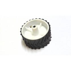 Racing Wheel - 7.4 cm Dia, 3.6 cm Width , 6mm Bore