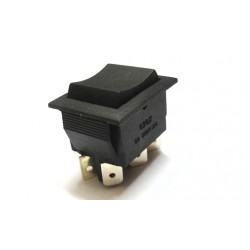 Double Pole Double Throw (DPDT) Switch - Center Off - Spring Loaded - 6A - 250V