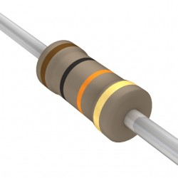 Carbon Film Resistors - 1/4 Watt, 5% Tolerance (Pack of 10)