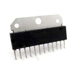 CD6283 / TDA6283 - 4.6W Stereo Audio Power Amplifier