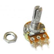 100K Linear Volume Control - B Type - Straight Pin - 6mm Knob